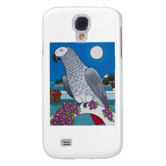 Parrot in Paradise Samsung Galaxy S4 Cover