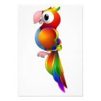 Parrot Invitations