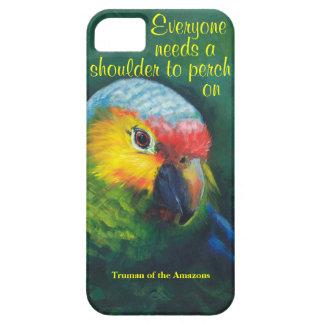 Parrot iphone case, tropical island iPhone SE/5/5s case