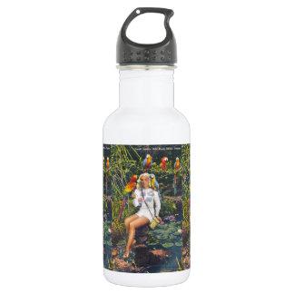 Parrot Jungle,  Miami,  Florida 18oz Water Bottle