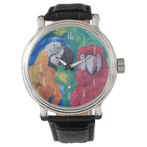 Parrot Love Birds Watch