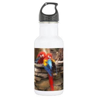 Parrot Love 18oz Water Bottle