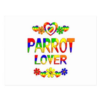 Parrot Lover Postcard