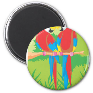 Parrot Lovers Refrigerator Magnets