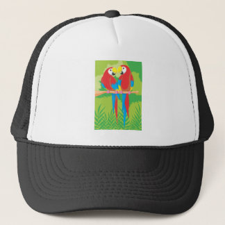 Parrot Lovers Trucker Hat