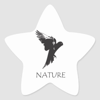 Parrot Macaw | Nature Series Products Star Sticker