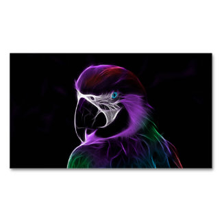 Parrot Magnetic Business Card