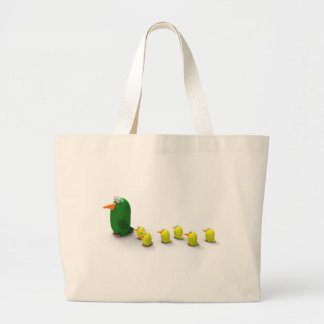 Parrot mom and chicks bag