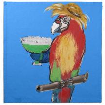 Parrot Napkins