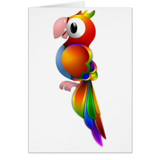Parrot Note Cards