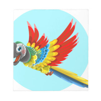 parrot notepad
