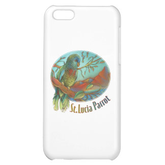 Parrot of St Lucia iPhone 5C Covers
