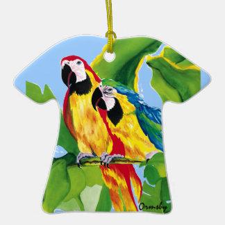 Parrot-ornament