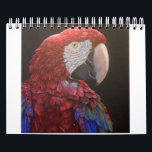 "Parrot Passion Calendar for you<br><div class=""desc"">I painted all parrots included in your calendar. I live surrounded by parrots and because painting is my life-long passion,  I painted a lot of birds for my clients and friends. I love vibrant colors and social behaviour of these creatures.</div>"
