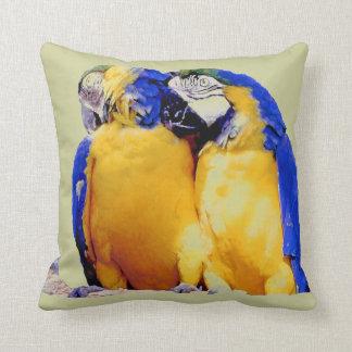 Parrot Passion, pillow