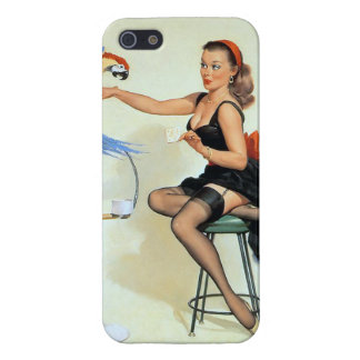 Parrot Pin Up iPhone 5 Covers