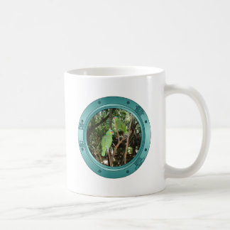 Parrot Porthole Coffee Mug