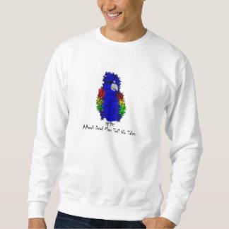 parrot pullover sweatshirt