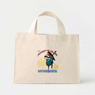 Parrot 's house club mini tote bag