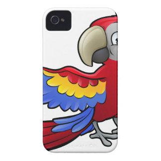 Parrot Safari Animals Cartoon Character Case-Mate iPhone 4 Case