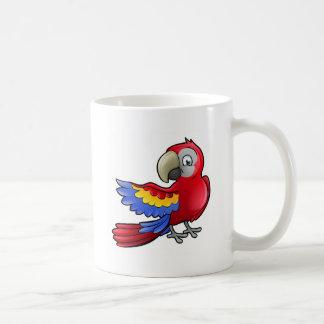 Parrot Safari Animals Cartoon Character Coffee Mug