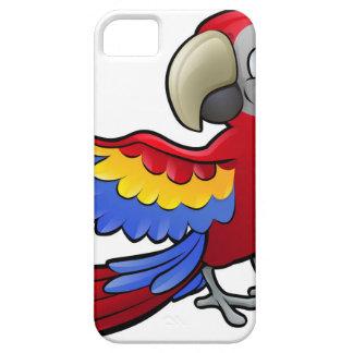 Parrot Safari Animals Cartoon Character iPhone SE/5/5s Case