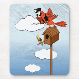 Parrot see, parrot do mouse pad