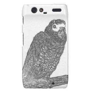 Parrot Sketch Droid RAZR Cover