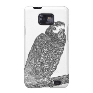 Parrot Sketch Galaxy S2 Cases
