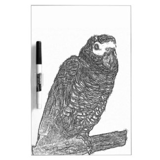 Parrot Sketch Dry-Erase Whiteboard