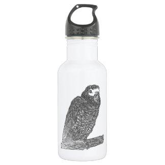 Parrot Sketch 18oz Water Bottle