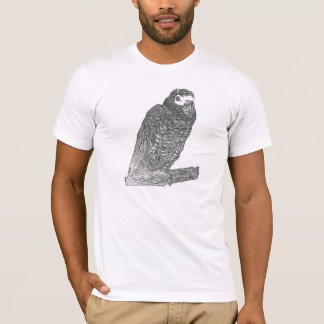Parrot Sketch (Psittacus Erithacus) T-Shirt