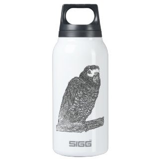 Parrot Sketch SIGG Thermo 0.3L Insulated Bottle