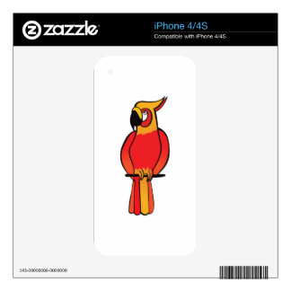 Parrot Skin For The iPhone 4