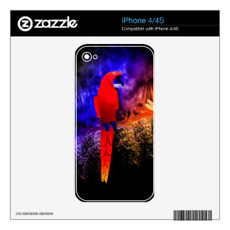 Parrot iPhone 4S Skins