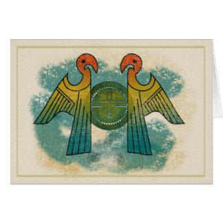 Parrot Sun Greeting Card