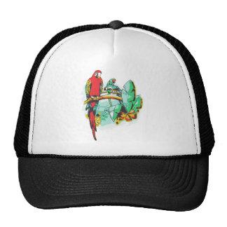 Parrot Trio Trucker Hat