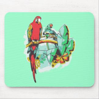 Parrot Trio Mouse Pad