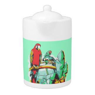 Parrot Trio Teapot