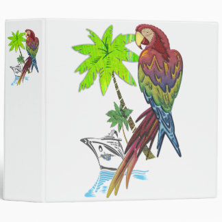 Parrot Tropical Cruise Binder