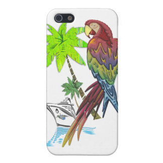 Parrot Tropical Cruise Cover For iPhone SE/5/5s