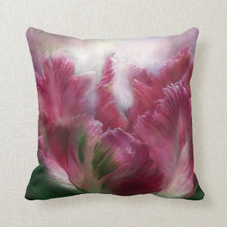 Parrot Tulip Art Designer Pillow
