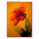 parrot tulip card