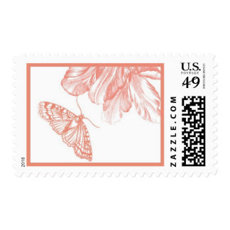 Parrot Tulip D by Ceci New York Postage Stamp