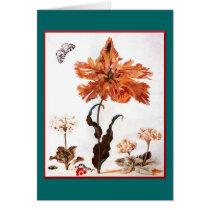 Parrot Tulip Greeting Card