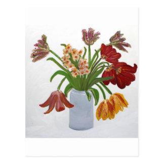 Parrot Tulips: Susan Payne-Trutna Postcard