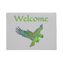 Parrot Welcome Doormat