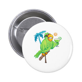 PARROT WITH MARGARITA PINS
