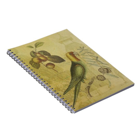 Parrot with Plums Notebook