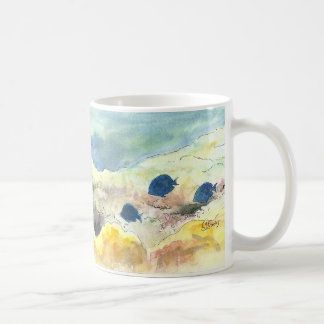 Parrotfish and Blue Tangs Coffee Mugs